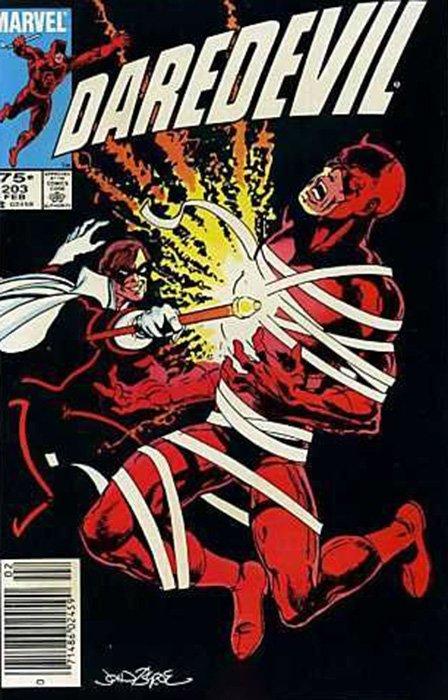 Marvel Comicss Daredevil Issue 203b