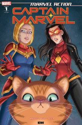 IDW Publishing's Marvel Action: Captain Marvel Issue # 1b