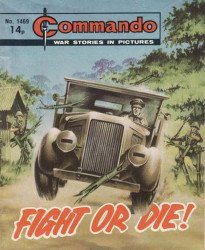 D.C. Thomson & Co.'s Commando: War Stories in Pictures Issue # 1469