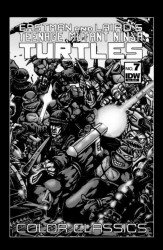 IDW Publishing's Teenage Mutant Ninja Turtles: Color Classics Issue # 7jetpack