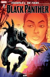 IDW Publishing's Marvel Action: Black Panther Issue # 2