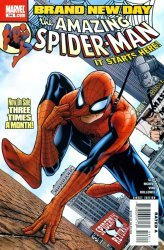 Marvel Comics's The Amazing Spider-Man Issue # 546