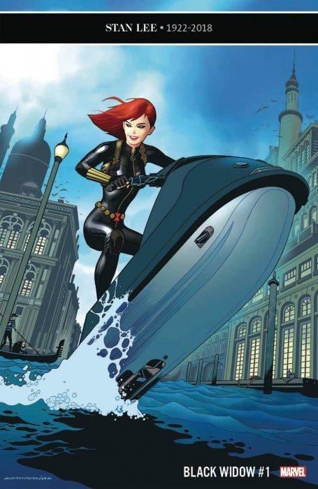 Black Widow # 5 2019 Keunwoo Lee Variant Cover 1st Print Marvel Comics NM+