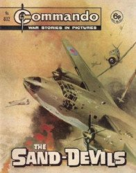 D.C. Thomson & Co.'s Commando: War Stories in Pictures Issue # 832