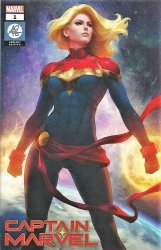 Marvel Comics's Captain Marvel Issue # 1artgerm-a