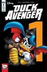 IDW Publishing's Duck Avenger Issue # 1sub