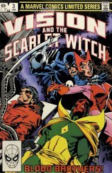 Marvel Comics's Vision and the Scarlet Witch Issue # 3