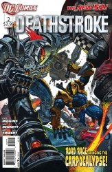 DC Comics's Deathstroke Issue # 2