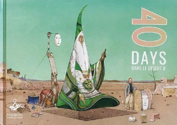 Book Palace's 40 Days Dans Le Desert B Hard Cover # 1