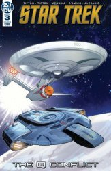 IDW Publishing's Star Trek: The Q Conflict Issue # 3b