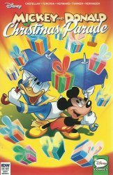 IDW Publishing's Mickey and Donald: Christmas Parade Issue # 4