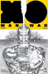 Valiant Entertainment's X-O Manowar Issue # 1knowhere