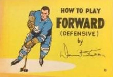 Gaines Productions Ltd.'s How to Play Hockey: Coca-Cola Mini-Comics Issue b