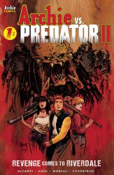 Archie Comics Group's Archie vs. Predator 2 Issue # 1