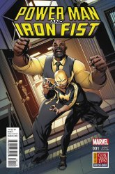 Marvel's Power Man and Iron Fist Issue # 1j