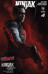 Valiant Entertainment's Ninjak Issue # 0nycc-a