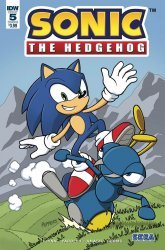 IDW Publishing's Sonic the Hedgehog Issue # 5b