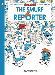 Papercutz's The Smurfs Soft Cover # 24