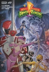 BOOM! Studios's Mighty Morphin Power Rangers Issue # 17f
