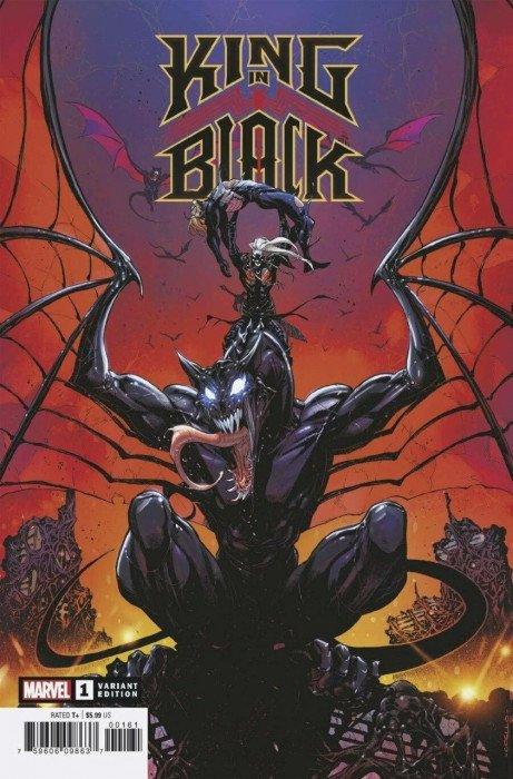 KING IN BLACK #1 CVR MOMOKO 1:10 RATIO MARVEL COMICS PRESELL VENOM KNULL 12//2