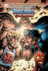 DC Comics's Injustice vs The Masters of The Universe Hard Cover # 1