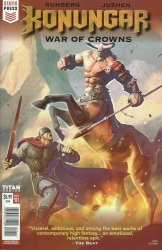 Titan Comics's Konungar: War of Crowns Issue # 1