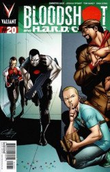 Valiant Entertainment's Bloodshot and H.A.R.D. Corps Issue # 20c