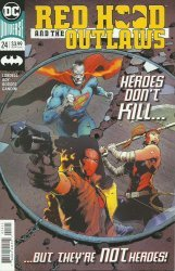 DC Comics's Red Hood and the Outlaws Issue # 24