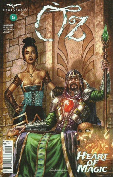 Grimm Fairy Tales Presents Oz Vol 1 2 | Zenescope