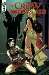 IDW Publishing's The Crow / Hack Slash Issue # 4