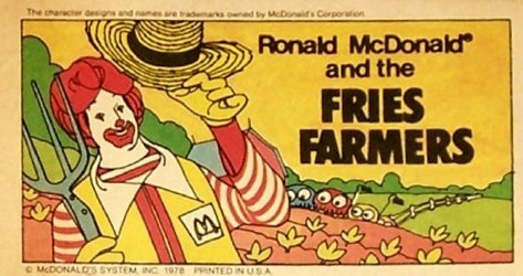 McDonalds Corp's Ronald McDonald and the Fries Farmers Issue # 1