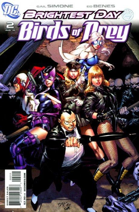 Birds Of Prey Issue 1 Dc Comics