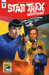 IDW Publishing's Star Trek: Waypoint Issue # 6sdcc
