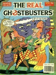 Marvel UK's The Real Ghostbusters Issue # 83