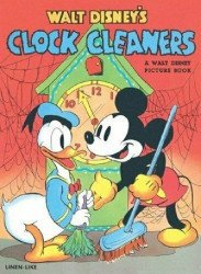 Whitman's Walt Disney's Clock Cleaners Issue nn