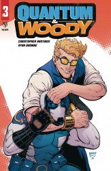 Valiant Entertainment's Quantum & Woody Issue # 3c