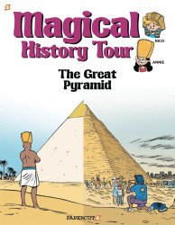 Papercutz's Magical History Tour Hard Cover # 1