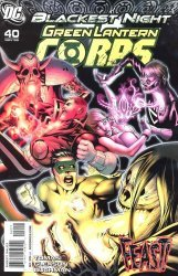 DC Comics's Green Lantern Corps Issue # 40
