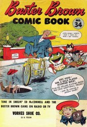 Buster Brown Shoes's Buster Brown Comics Issue # 34vorhes