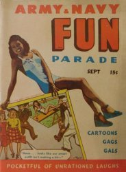 Harvey Publications's Army and Navy Fun Parade Issue V3-6