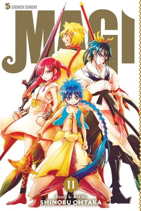 magi the labyrinth of magic soft cover 1 viz media. Black Bedroom Furniture Sets. Home Design Ideas