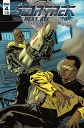 IDW Publishing's Star Trek the Next Generation: Through the Mirror Issue # 4b