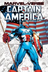 Marvel Comics's Marvel-Verse: Captain America Soft Cover # 1