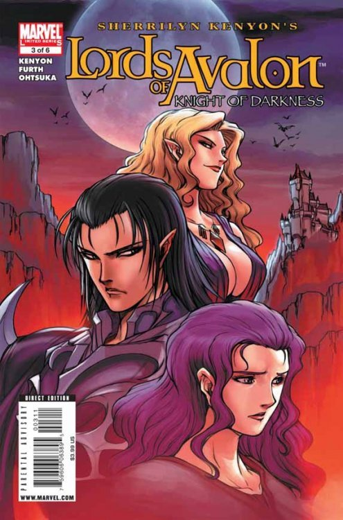 Marvel Comicss Lords Of Avalon Knights Darkness Issue 3