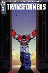 IDW Publishing's Transformers Issue # 3