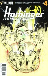 Valiant Entertainment's Harbinger: Renegade Issue # 4f