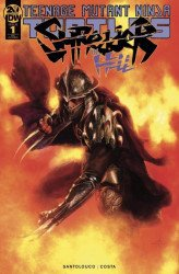 IDW Publishing's Teenage Mutant Ninja Turtles: Shredder in Hell Issue # 1scorpion-a