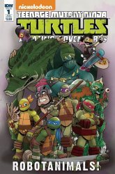 IDW Publishing's Teenage Mutant Ninja Turtles: Amazing Adventures: Robotanimals Issue # 1sub