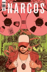 IDW Publishing's Narcos Issue # 3ri