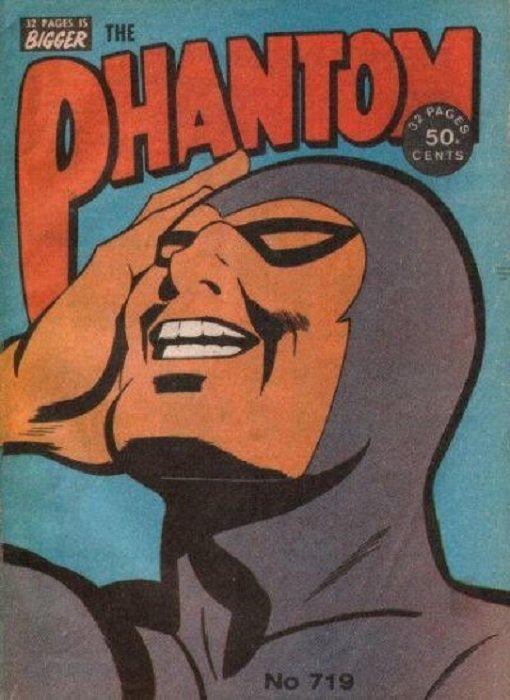 Frew Phantom #734 #735 1981 VG- M16